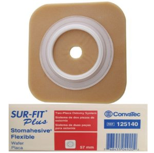 Placa de Colostomia Flexível 57mm - Convatec