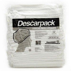 Touca Sanfonada Descartável (100UN) - Descarpack