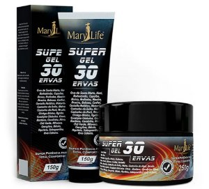 Gel Massageador 30 Ervas 150g - Mary Life