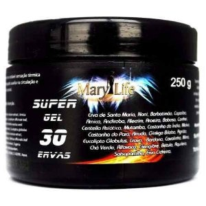 Gel Massageador 30 Ervas 250g - Mary Life