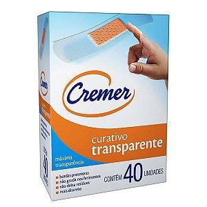Curativo Antisséptico Transparente (40UN) - Cremer