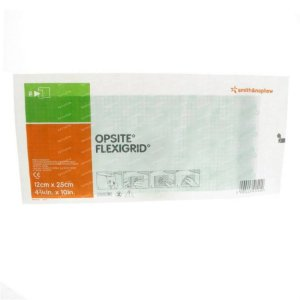 Opsite Flexigrid 12cm x 25cm - Smith & Nephew