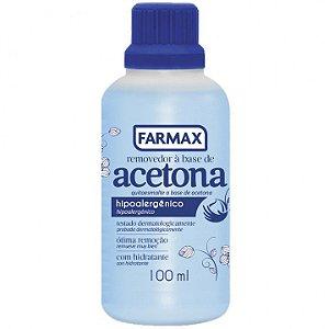 Removedor de Emalte à base de Acetona (100ml) - Farmax