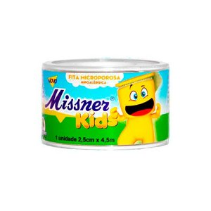 Fita Micropore Kids 2,5cm x 4,5m - Missner