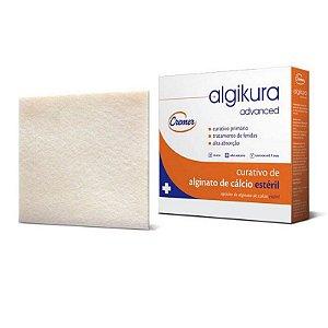 Curativo de Alginato de Cálcio Algikura 10cm x 10cm - Cremer