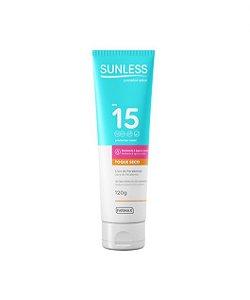 Protetor Solar Sunless FPS 15 (120g) - Farmax