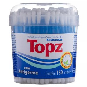 Cotonetes Flexíveis em Pote (150UN) - Topz