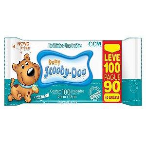 Lenço Umedecido Scooby-Doo Baby (100UN) - CCM