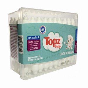 Cotonetes Flexíveis Infantil (50UN) - Topz Baby