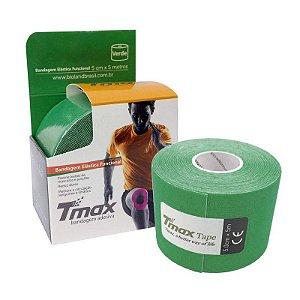 Fita Kinesio Bandagem Adesiva Tmax - Verde