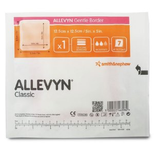 Curativo Allevyn Gentle Border 12,5cm x 12,5cm Smith & Nephew - 1 Unidade