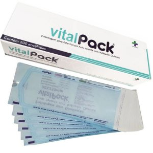 Envelope Auto Selante para Esterilização (200UN) - VitalPack
