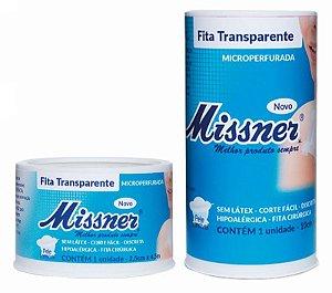 Esparadrapo Fita Transparente Missner - 1 Unidade