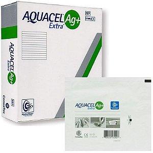 Curativo Aquacel AG+ EXTRA Hidrofibra com Prata Convatec - 1 Unidade