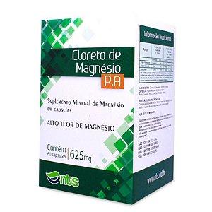 Cloreto De Magnésio P.A 625MG (60Caps) - NTS