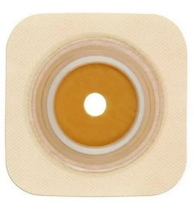 Placa de Colostomia Sur-Fit Plus Plana com Micropore Convatec - Caixa com 5 Unidades