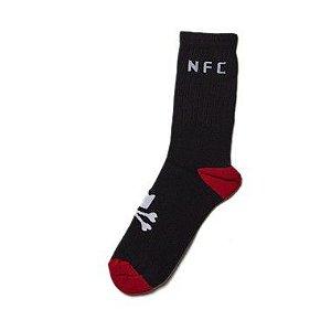 Meia NFC - Vermelha