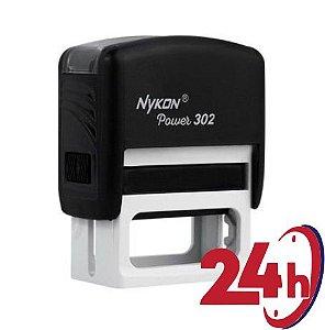 NYKON 302  (1.4 cm x 3,8 cm) | (Sem personalização) | CORES FIXAS (UNITÁRIO) 24H