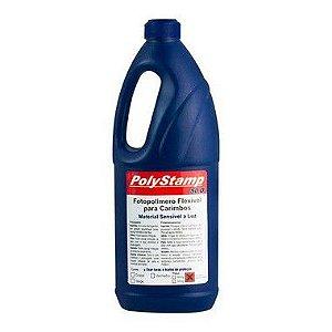 Polímero Líquido 900ML Polystamp - DUAS CORES