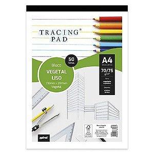 Papel vegetal - Pacote c/ 50 folhas 70/75g