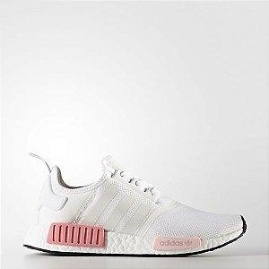 Tênis Adidas NMD R1 Branco / Rosa