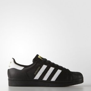 Tênis Adidas Originals Superstar Foundation Preto / Branco
