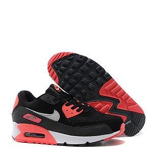 Tênis Nike Air Max 90 Preto / Laranja