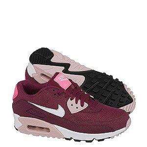 Tênis Nike Air Max 90 Feminino Essential Vinho