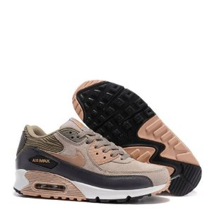 Tênis Nike Air Max 90 Feminino Leather Metálico / Bronze