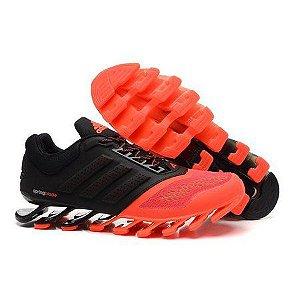 Tênis Adidas Springblade Drive 3 Preto e Laranja