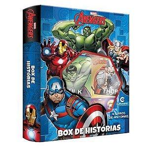 Super Box De Historias Vingadores Com 6 Livros