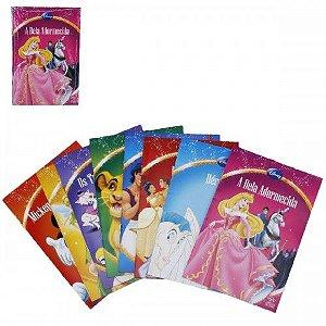 Livro Infantil (8PCS) Turma Disney