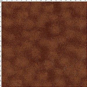 Tecido Círculo Poeirinha CAFÉ- 1886 - 0,50cmx1,50 Mts