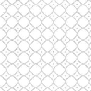 Tecido Tricoline Círculo felícia Branco - 2059 - 0,50cmx1,46 Mts