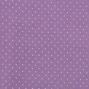 Tricoline 100% algodão Poá - LAVANDA - 1597 - 0,50cmx146cm