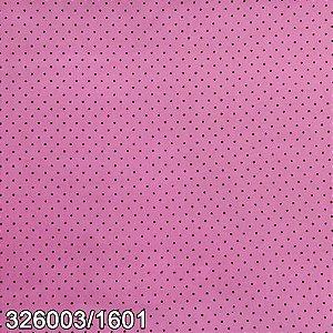 Tecido Círculo Poá Tutti-frutt- Bolinhas marrons - 1601 - 0,50cmx1,46 Mts