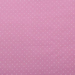Tecido Círculo Poá Rosa Velho Bolinhas brancas - 1617 - 0,50cmx1,46 Mts