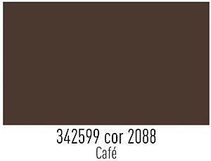 Tecido Círculo Tricoline liso CAFÉ - 2088 - 0,50cmx1,50 Mts
