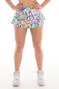 SHORT SAIA FIT - GRAFIT COLORS 8707