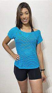 Blusa Tela - Azul 8247