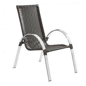 Cadeira Alumínio Fibra