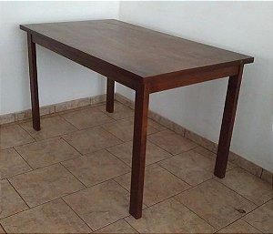 mesa de madeira 1,40m