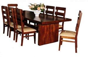 Mesa em madeira 2,75m