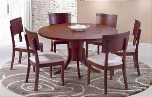 Conjunto Mesa com 06 Cadeiras