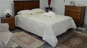 Cama Casal 1,60 Madeira Maciça