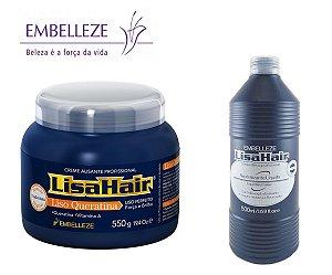 Kit Lisa Hair Creme Alisante E Neutralizante Profissional