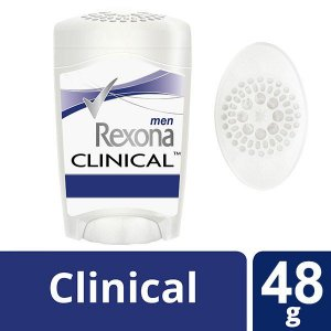 Kit Com 3 Desodorante Rexona Clinical Stick Men 48g