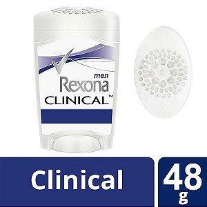 Kit Com 3 Desodorante Rexona Clinical Stick Men 48g