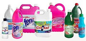 Adesivo e Rótulo produtos de Limpeza