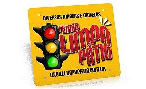 Placas PVC para motos 25 unidades